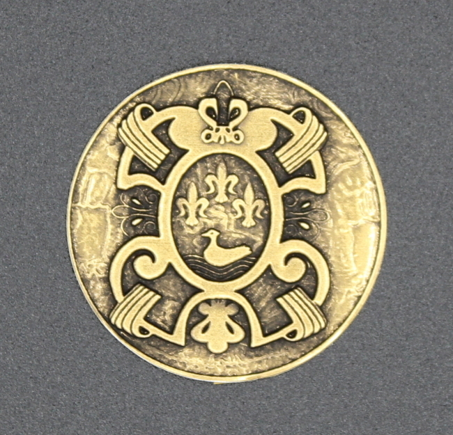 Gold Coin Label